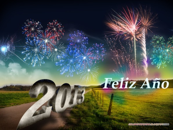 2013 Feliz año nuevo